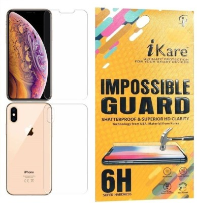 iKare Front and Back Screen Guard for Apple iPhone XS Max(Pack of 1)