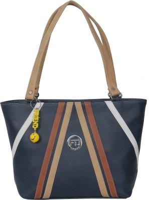 FD FASHION Women Tan, Blue Shoulder Bag FD FASHION Handbags