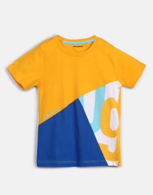 Provogue Boys Printed Cotton T Shirt