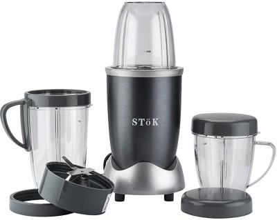 Stok NUTRI BULLET ST-NB01 600 Mixer Grinder (3 Jars, METALIC GREY)