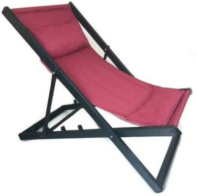 Smart Shelter Metal Outdoor Chair(Finish Color - BLACK AND RED)