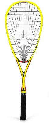 KARAKAL F Pro 130 FastFibre Superlite Yellow Strung Squash Racquet(Pack of: 1, 130 g)