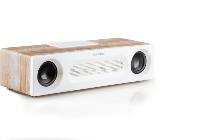 Noizzy Box Retro Vogue Vintage Classic and Powerful Sound Bar Home Theatre System with Bluetooth FM USB and AUX (Ginger White) 40 W Bluetooth  Speaker(Ginger White, 2.0 Channel)