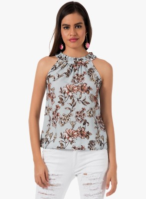FabAlley Casual Sleeveless Floral Print Women