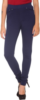 MG CREATIONS Slim Fit Women Blue Trousers Flipkart