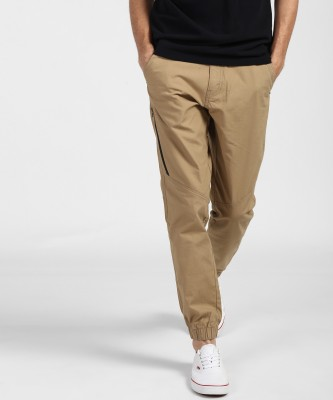 AD & AV Regular Fit Men Black Trousers