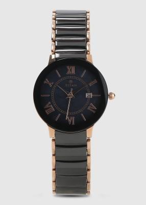 Titan 95016WD01J Analog Watch - For Women