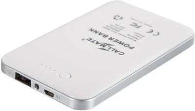 Callmate 4000 Power Bank Silver, Lithium Polymer Callmate Power Banks