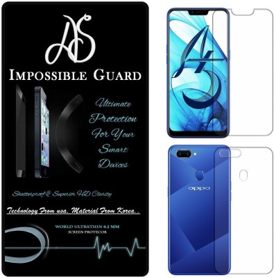 AS Front and Back Screen Guard for OPPO A5(Pack of 1)