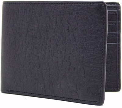 MS Men Casual Blue Artificial Leather Wallet(10 Card Slots)