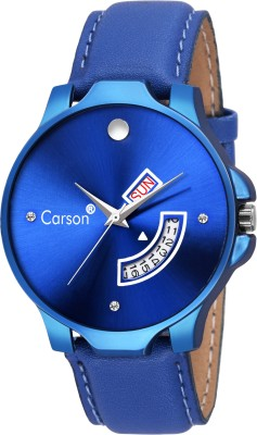 Carson CR8063 DayAndDate Functioning Watch  - For Men