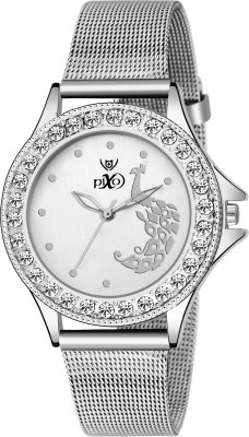 Pixo PX Peacock SCK 001 White Analog Watch   For Women
