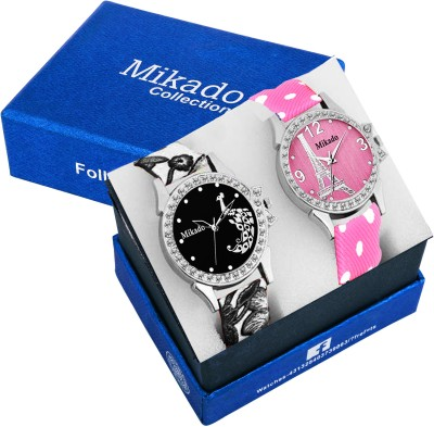 Mikado Fashionable Queens Multicolor Analog watches combo For Girls & Women Watch  - For Girls