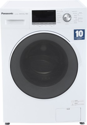 Panasonic 8/5 kg Fully Automatic Front Load Washer with Dryer White(NA-S085M2W01) (Panasonic)  Buy Online
