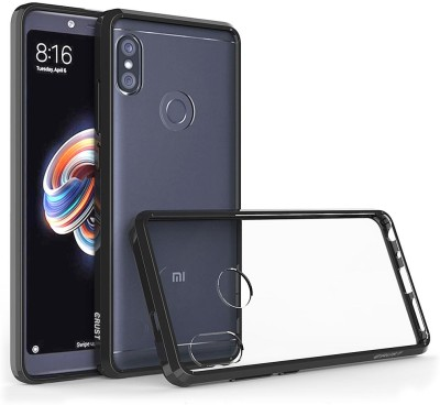Crust Back Cover for Mi Redmi Note 5 Pro(Transparent, Shock Proof)