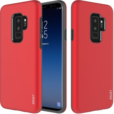 Crust Back Cover for Samsung Galaxy S9 Plus(Red, Shock Proof)