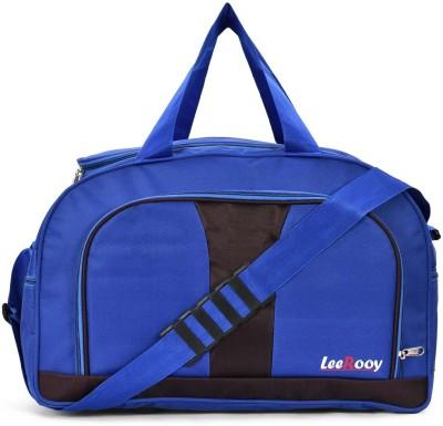 LeeRooy MN BLUE 50L TRAVEL DUFFEL BAG Duffel Without Wheels LeeRooy Duffel Bags