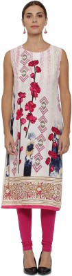 Fashion2wear Casual Floral Print, Printed Women Kurti(Multicolor)