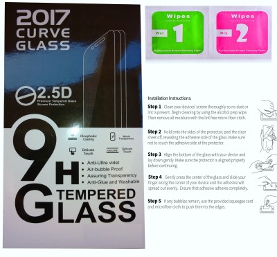 9H Tempered Glass Guard for HTC Desire 616(Pack of 1)