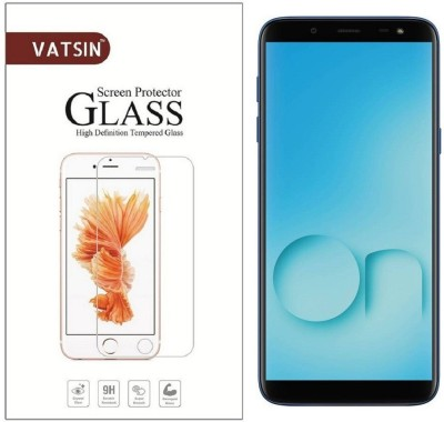 Vatsin Tempered Glass Guard for Samsung Galaxy On6, Samsung Galaxy J6(Pack of 1)