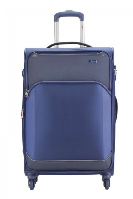 VIP BEAT PLUS 4W STR 56 BLUE Expandable  Cabin Luggage - 20 inch(Blue)