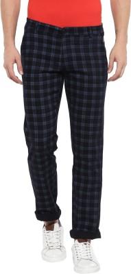 Urbano Fashion Slim Fit Men Black, Blue Trousers