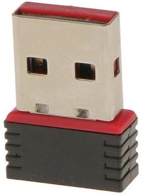 TrustEdge 600MBPS Mini Wireless Wi-Fi Nano USB WiFi Adapter Dongle 2.4GHz 802.11N USB Adapter(Black)