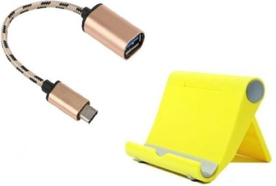 OLECTRA A136 USB Adapter(Yellow, Multicolor)