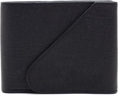 MS Men Casual Blue Artificial Leather Wallet(4 Card Slots)