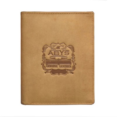 726282b951829 61% OFF on ABYS Men Casual Khaki Genuine Leather Wallet(8 Card Slots)