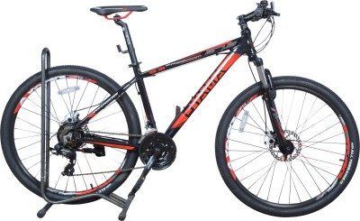 """OYAMA Freedom 2.3 21 Speed 27.5"""" 27.5 T Mountain/Hardtail Cycle(21 Gear, Red, Black)"""