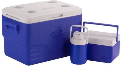 Coleman 54Qt combo ice cooler box(Blue, 50 L)