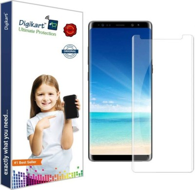 DIGIKART Edge To Edge Tempered Glass for Samsung Note 9 Mobile Screen Protector Guard Premium Transparent Tempered Glass For Samsung Note 9(Pack of 1)