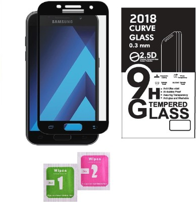 Caseline Tempered Glass Guard for Samsung Galaxy A5-2017(Pack of 1)