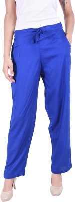 Rangmanch by Pantaloons Regular Fit Women Yellow Trousers