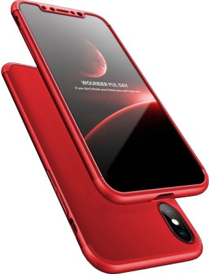 Kapa Back Cover for Apple iPhone X, Apple iPhone XS Red Kapa Plain Cases   Covers