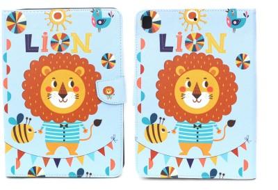 "Fashion Flip Cover for Apple iPad 9.7\"" 2017/2018 5th/6th Generation Model A1822/A1823/A1893/A1954(Multicolor)"