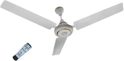 Maya Super Eco Tech 1200 mm BLDC Motor with Remote 3 Blade Ceiling Fan(White, Pack of 1)