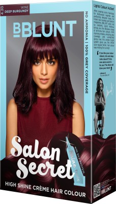 BBlunt Salon Secret High Shine Hair Color(Burgundy)