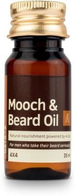 Ustraa By Happily Unmarried Mooch & Beard Growth Oil 4x4 Hair Oil(35 ml)