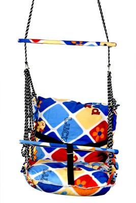 DD RETAIL Kids Jhula Wooden Swing(Blue)