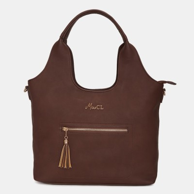 Miss CL Women Brown Hobo at flipkart
