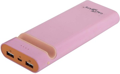 Callmate 15600 Power Bank Pink, Lithium ion