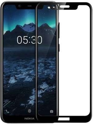 Gorilla Armour Edge To Edge Tempered Glass for Nokia 5.1 Plus(Pack of 1)