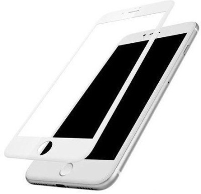the best choice Screen Guard for I Phone 8 5D Curved Color Glass/5D Tempered glass/ Edge to Edge 5D Anti -Scratch Glass/Screen Protector (White)