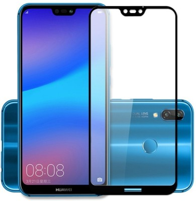 THE JUMP START STORE Back Tempered Glass for OPPO F9 Pro, F9(Color Glass Black)(3D Screen Protector)(Pack of 1)