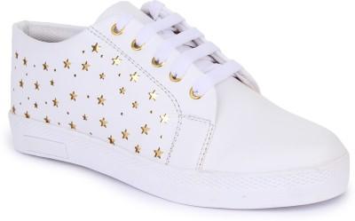 Moonwalk Sneakers For Women(White)