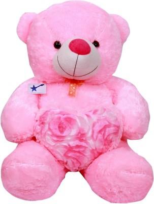 Fabelhaft TEDDY BEAR 3 feet   30 inch Pink Fabelhaft Soft Toys