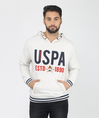 U.S. Polo Assn Full Sleeve Applique Men Sweatshirt at flipkart