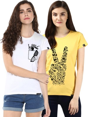 Young Trendz Graphic Print Women